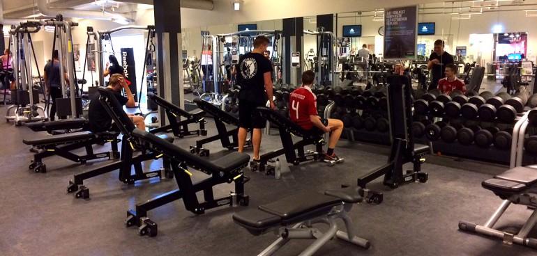 fitness world enkelt træning