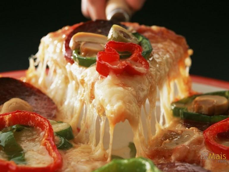Vidste du, at der er ligeså meget fedt i een enkelt pizzza som i 14 ...