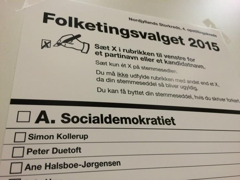 folketingsvalg 2015 personlige stemmer