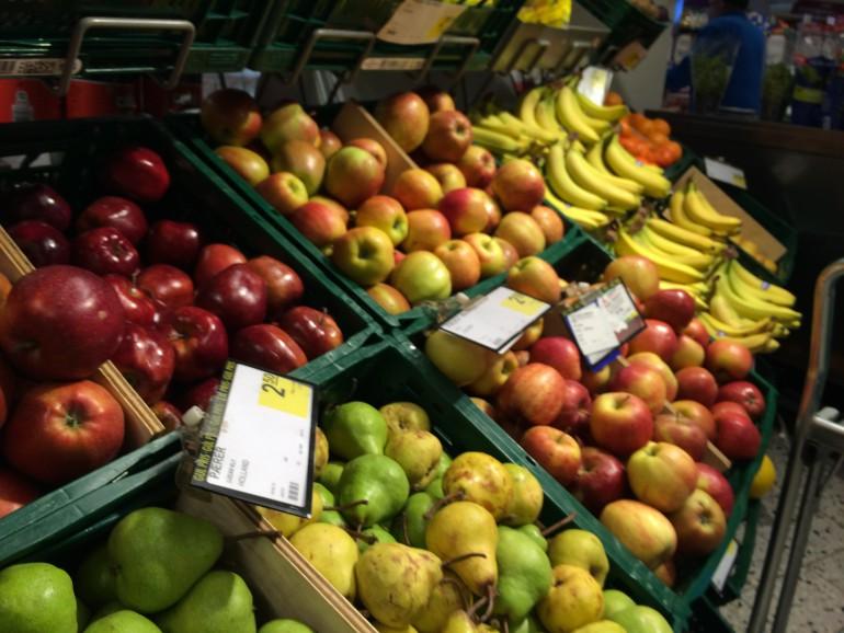 skive frugt og grønt
