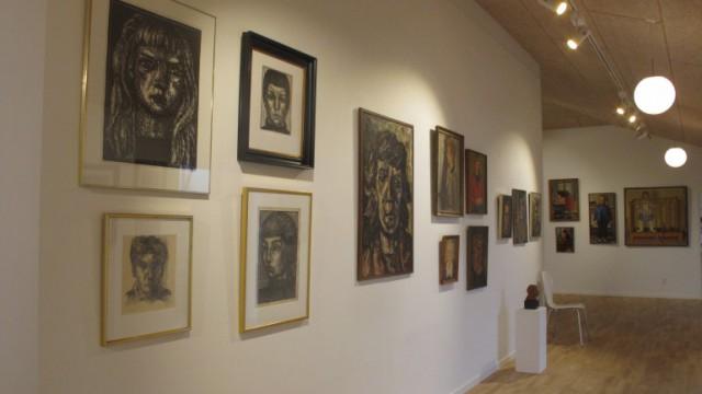 Wölck-udstilling Morsø Kunstforening