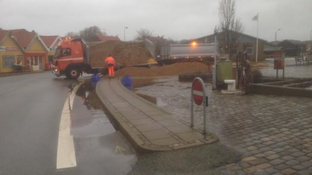 Nykøbing Havn storm 3