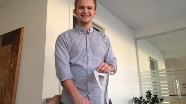 Iværksætteren Toke Pihl fra Hundborg