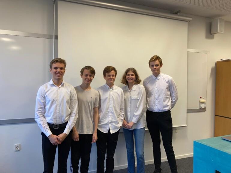 EUC Nordvest-elever dominerede i iværksætterkonkurrence