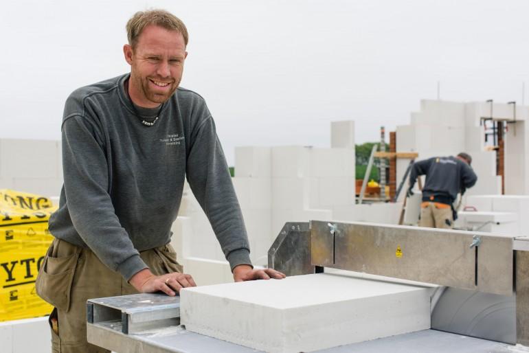 Gasbeton får revival hos firma i Thy   Limfjord Update