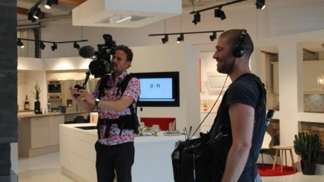 Optagelser til Nybyggerne hos Aubo, Thisted