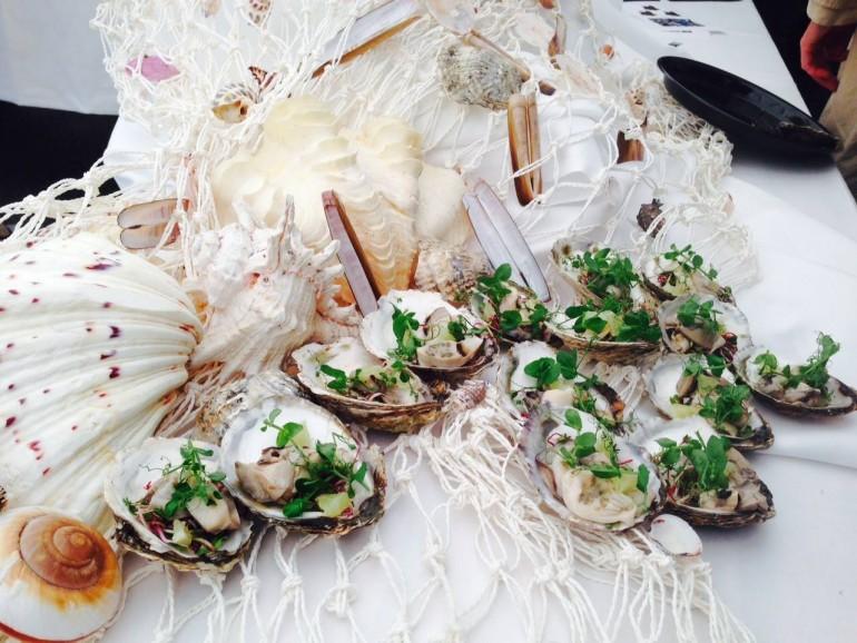 Gourmetkokke serverer skaldyr på Mors | Limfjord Update